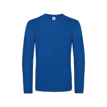 Modré tričko B&C dlouhý rukáv