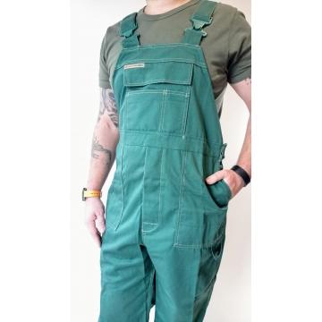 Pracovní zelené kalhoty s...