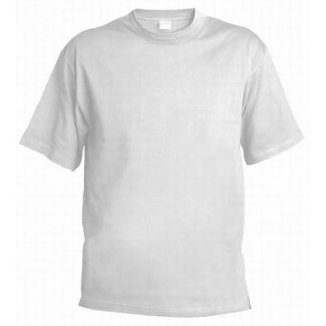 Bavlněné bílé tričko
