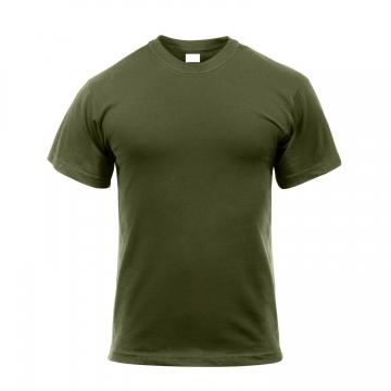 Bavlněné tričko ARMY zelené