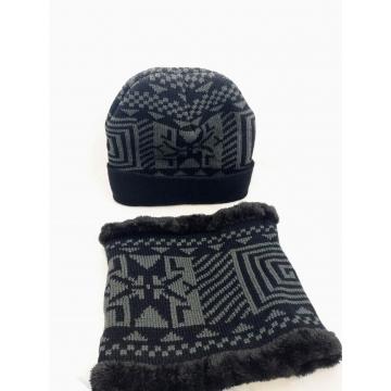 Set zimní čepice + nákrčník...