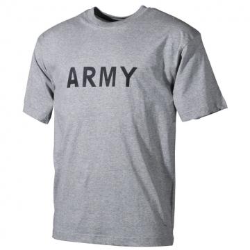 ARMY tričko šedé