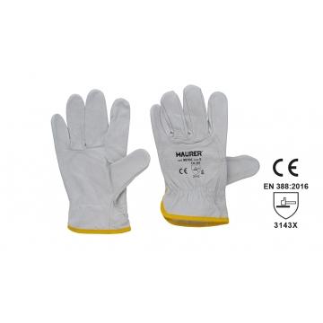 Pracovní kožené rukavice...